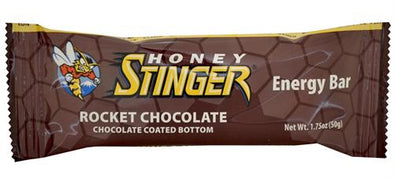 HONEY STINGER 5GR PROTEIN BAR ROCKET CHOCOLATE COATED BOTTOM