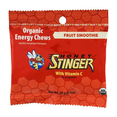 HONEY STINGER CHEWS FRUIT SMOOTHIE