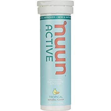 NUUN ELECTROLYTE ACTIVE DRINK TABS TROPICAL