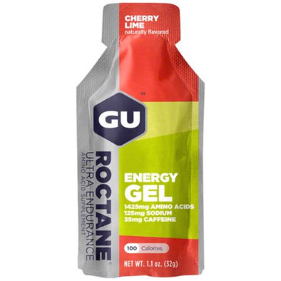 GU ROCTANE ENERGY GEL CHERRY LIME