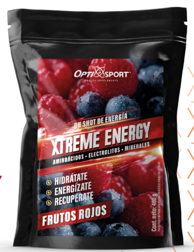 XTREME ENERGY FRUTOS ROJOS 400GRS OPTISPORT