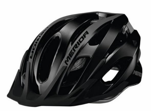 CASCO TEAM MTB GLOSS BLK/GRY 50-56 CM