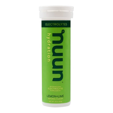 NUUN ELECTROLYTE ENHANCED DRINK TABS LEMON-LIME
