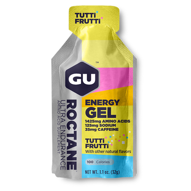 GU ROCTANE ENERGY GEL TUTTI FRUTTI