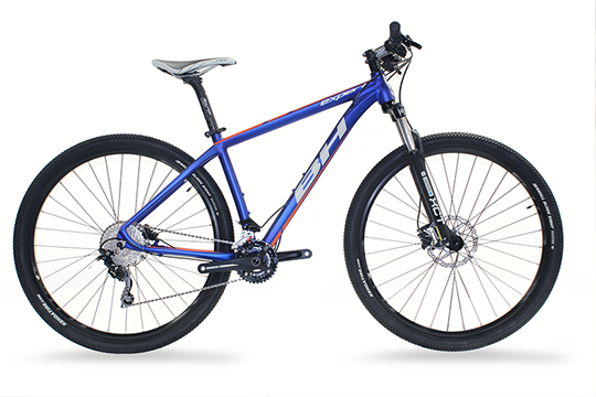 BICICLETA BH EXPERT 29'' DEORE 20s CT-45,  GLOSSY BLUE/ORANGE/WHITE