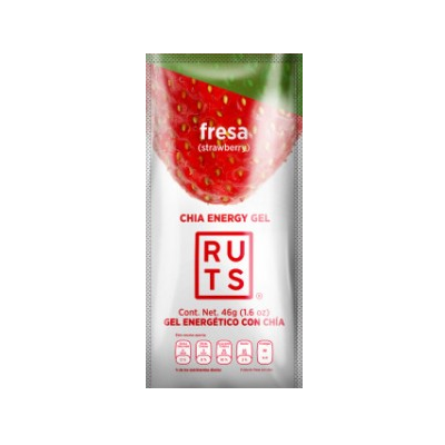 GEL ENERGETICO RUTS, STRAWBERRY, 1.6 OZ