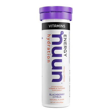 NUUN ELECTROLYTE ENERGY VITAMINS DRINK TABS BLACKBERRY CITRUS