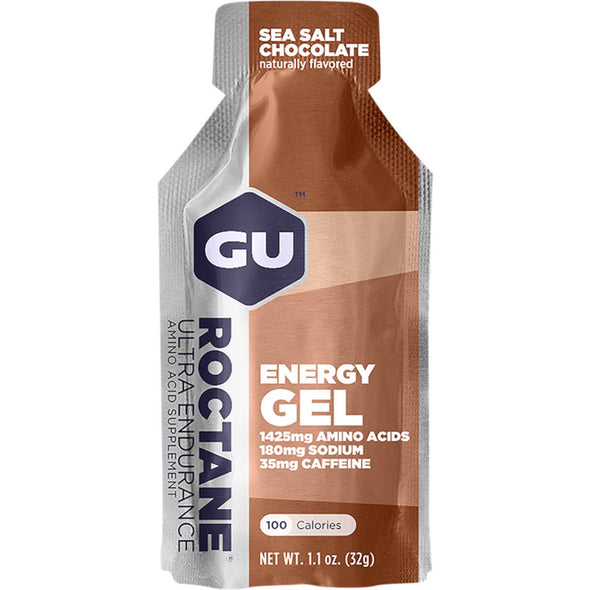 GU ROCTANE ENERGY GEL SEA SALT CHOCOLATE
