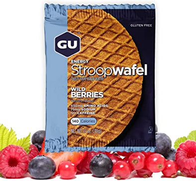 GU ENERGY STROOPWAFEL WILD BERRIES