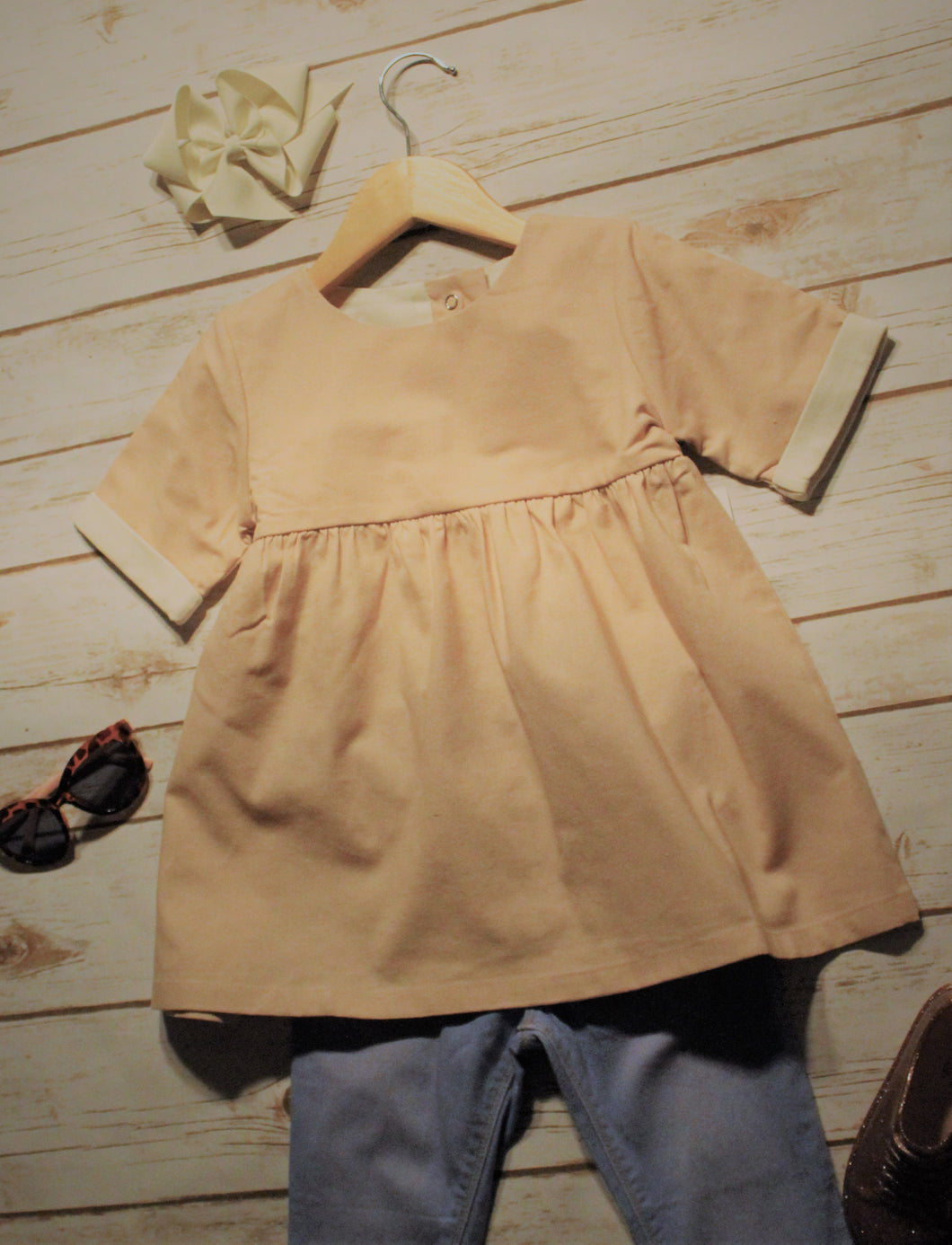 Toddler and Girls Pink Tunic