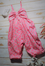 Toddler and Girls Pink & White Floral Romper