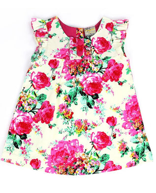 Toddler Angel Floral Dress