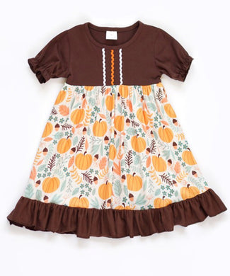 Toddler and Girls Harvest Dress