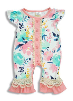 Infant and Toddler Floral Romper