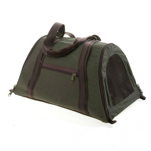 Airline-Approved Dome-Shaped Dog Carrier in Black - This Dog's Life
