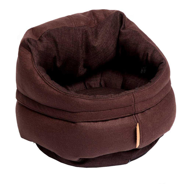 The Mighty Bolster Dog Bed in Espresso - This Dog's Life