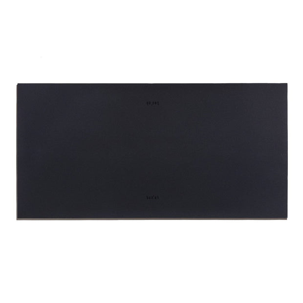 Classic Essential Food Mat in Deep Charcoal Gray