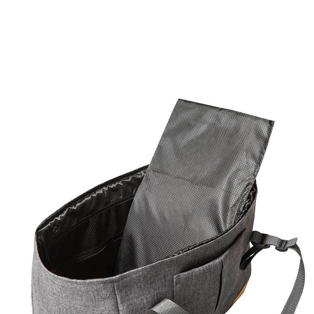 Year-Round Dog Carrier with Removable Fleece in Dark Gray
