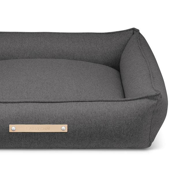 Luxury Modern Dog Bed in Charcoal