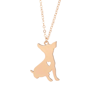 Our Chihuahua Necklace