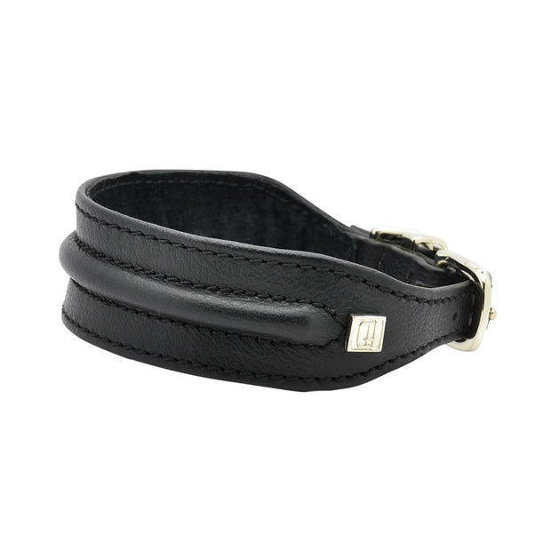 Horizon Hound Leather Collar in Black - This Dog's Life