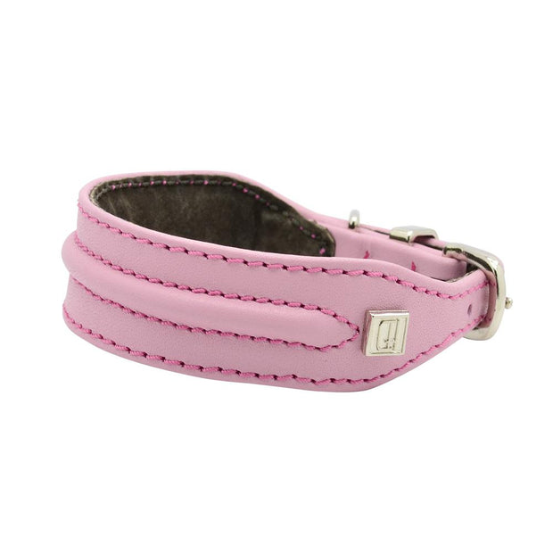Horizon Hound Leather Collar in Cotton Candy - This Dog's Life