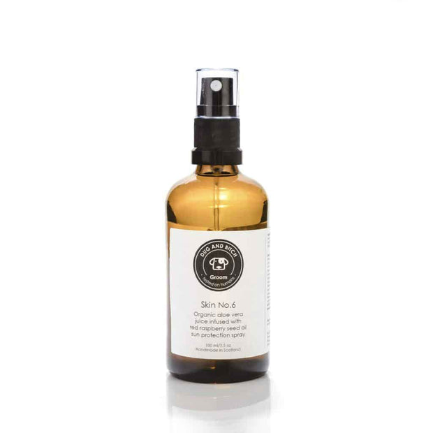 Organic Dog Sun Protectant Spray with Red Raspberry Seed Oil - This Dog's Life