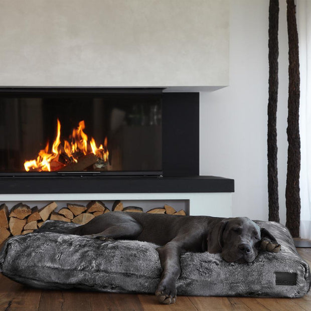 Soft Luxurious Faux Fur Dog Bed - This Dog's Life