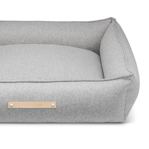 Luxury Modern Dog Bed in Heather Gray