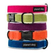 Natural, Eco-Friendly Hemp Collar in Ocean - This Dog's Life