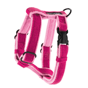 Natural, Eco-Friendly Hemp Harness in Pink Raspberry - This Dog's Life