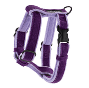 Natural, Eco-Friendly Hemp Harness in Grape