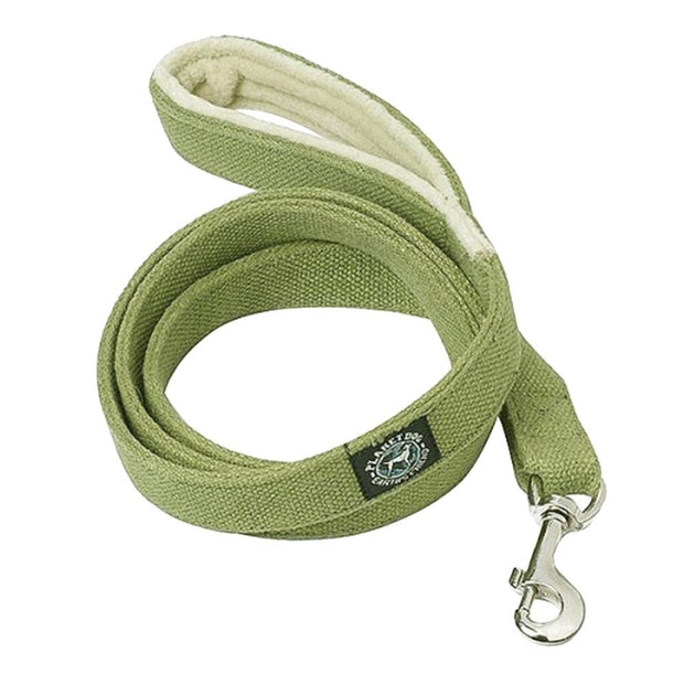 Natural, Eco-Friendly Hemp Leash in Moss