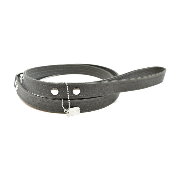 Vegan Eco-Friendly Canvas Leash in Ebony Black - This Dog's Life