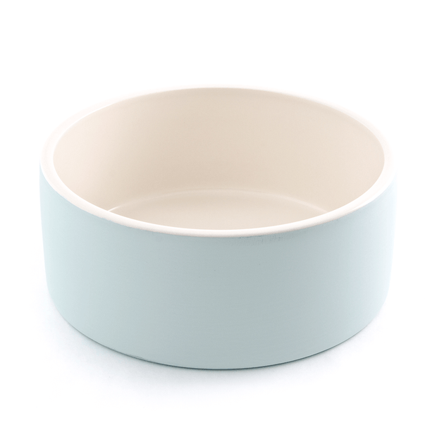 Antibacterial Natural Cooling Dog Water Bowl in Heaven Blue - This Dog's Life