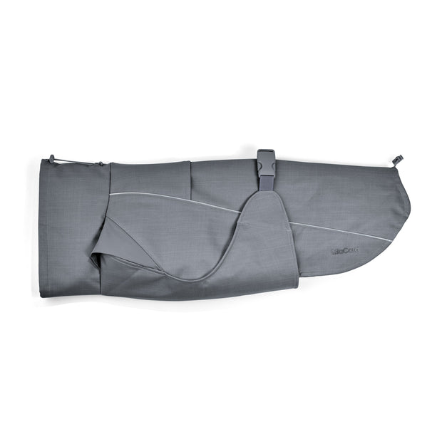 High-Performance Softshell Dog Coat in Slate Gray