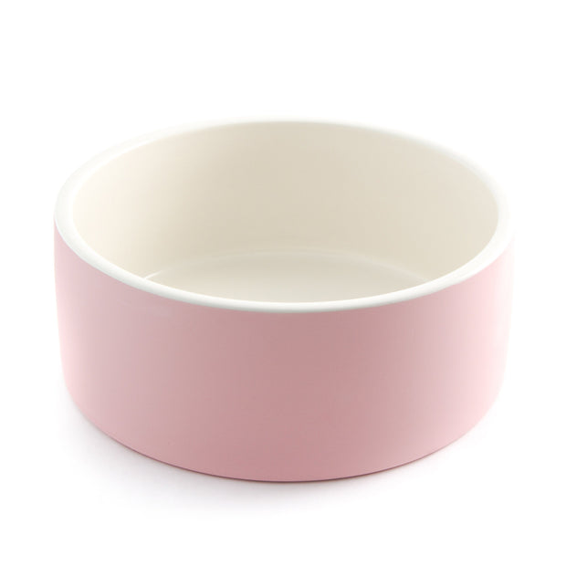 Antibacterial Natural Cooling Dog Water Bowl in Blush - This Dog's Life