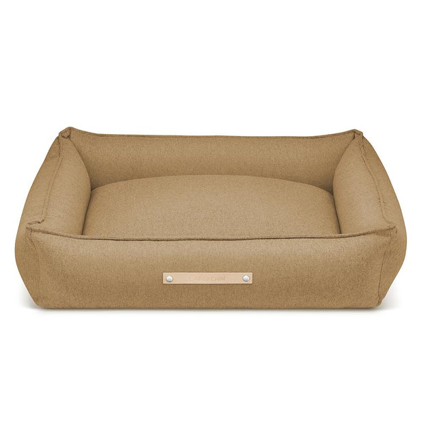 Luxury Modern Dog Bed in Nutmeg