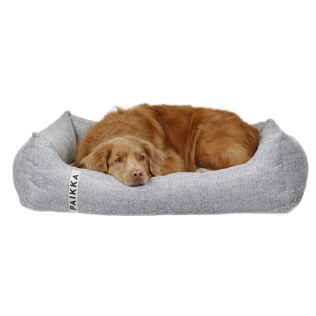 Orthopedic Dog Bed in Charcoal Gray - This Dog's Life