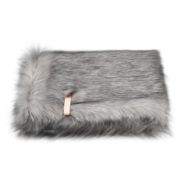 Ultimate Faux Fur Dog Blanket in Fawn Brown