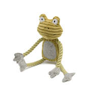 Squeaky Dog Bone and Frog Toy Bundle