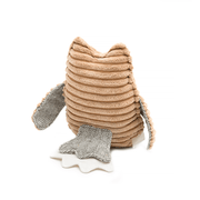 The Jolly Squeaker Dog Bone and Owl Toy Bundle