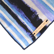 Limited Edition Watercolor Handpainted Striped Bandana