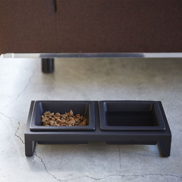 Modern Tip-Proof Dog Bowls in Black - This Dog's Life