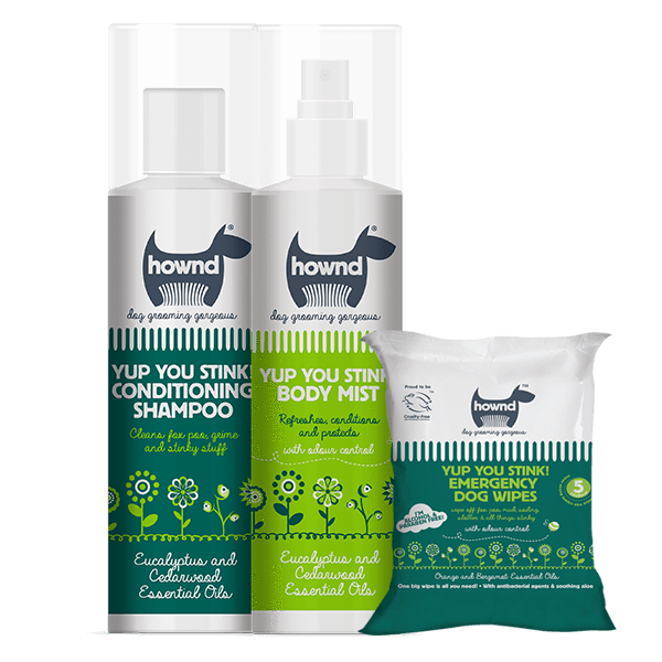 Yup You Stink! Super Grooming Pack with Shampoo, Spray and Emergency Wipes