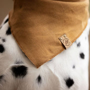 Linen Bandana in Honey Yellow - This Dog's Life