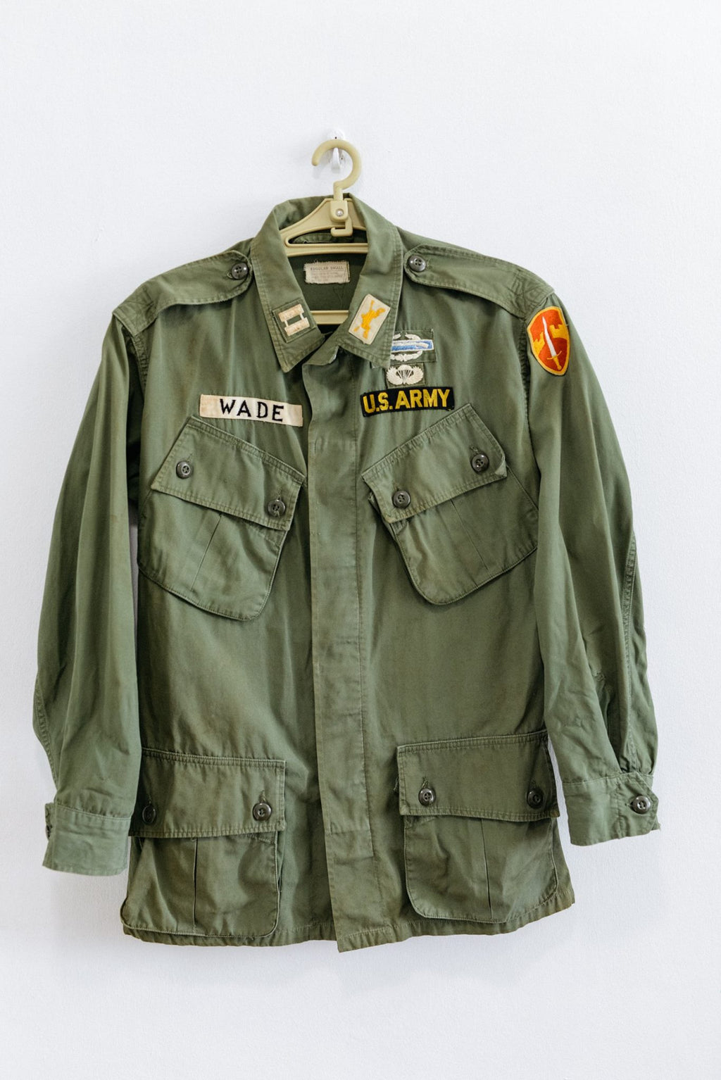 "Vietnam Jungle Jacket - 1st Pattern Tropical Combat Coat ""WADE"""