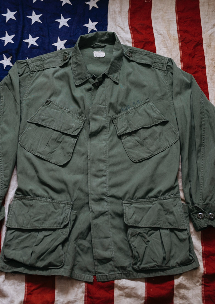 Vietnam USMC 2nd Pattern Jungle Jacket Poplin