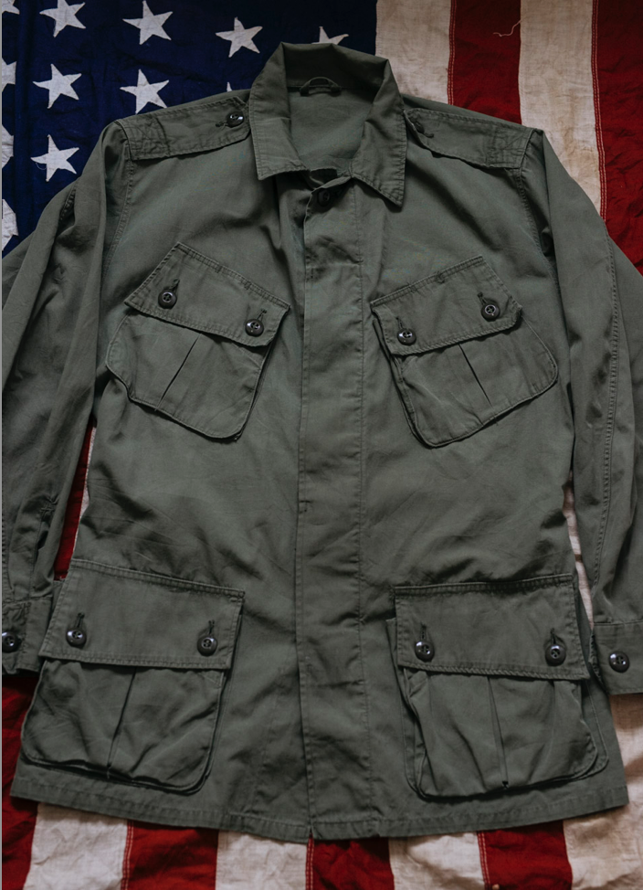 Vietnam Jungle Jacket - 1st Pattern Tropical Combat Coat
