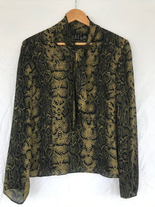 The Silk Snake Blouse